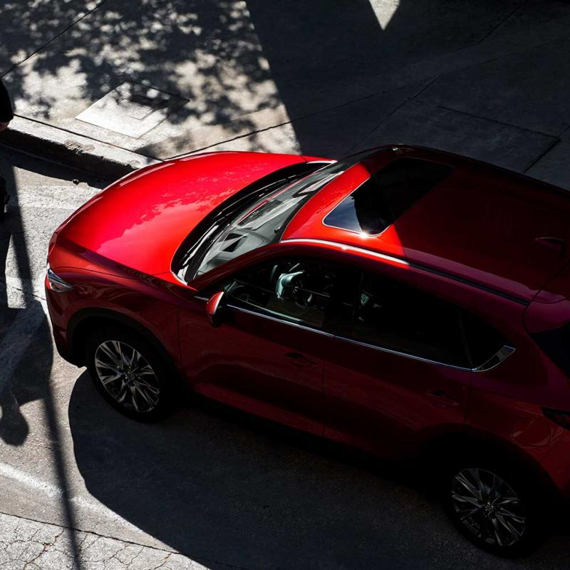 2019 Mazda Cx 5 Grand Touring Reserve Fuel Efficient Suv Side Profile