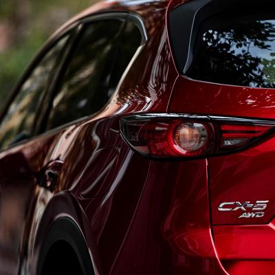 2019 Mazda Cx 5 Grand Touring Reserve Quarter Rear