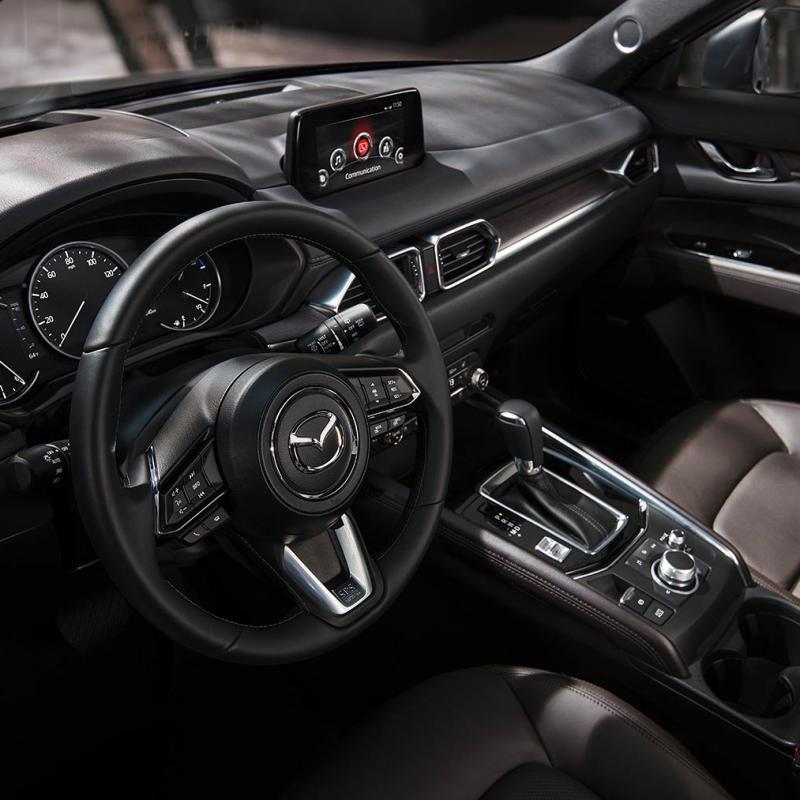 2019 Mazda Cx 5 Signature Crossover Suv Interior Drivers View