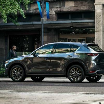 2019 Mazda Cx 5 Signature Fuel Efficient Suv Side Profile